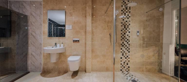 AHM wet room build Maidstone